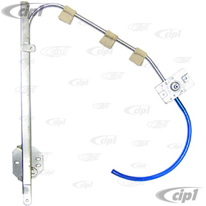 VWC-111-837-501-H - (111837501H) QUALITY REPRODUCTION - DOOR WINDOW REGULATOR - LEFT - BEETLE 68-74 - SOLD EACH