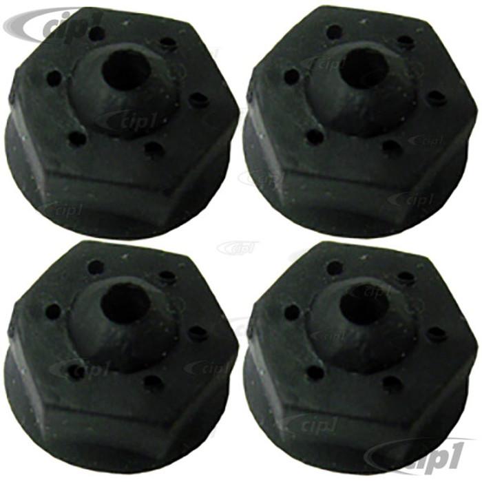 VWC-111-853-939-SET - SET OF 4 - 3MM EMBLEM SECURING CLIPS (FOR SCRIPTS C16-211-687K VWC-311-853-687 311853687 211853687) - SOLD SET OF 4