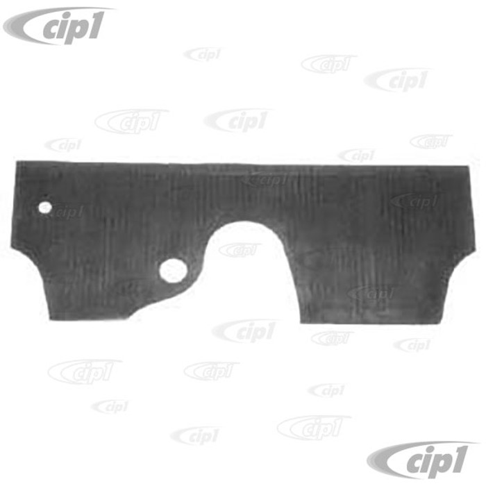 VWC-111-863-107 - (111863107) TOP QUALITY - 46-59 BEETLE FIREWALL RUBBER MAT (SEE NOTES ABOUT COLOR) - SOLD EACH
