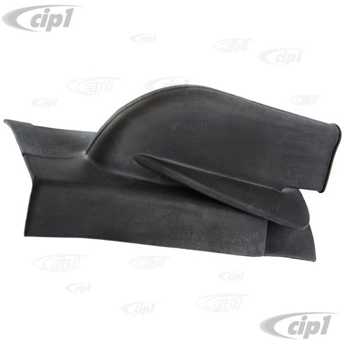 VWC-111-863-341 - (111863341) EXCELLENT REPRODUCTION - EMERGENCY BRAKE BOOT - BLACK RUBBER - BEETLE 10/52-55 - GHIA 10/52-55 - SOLD EACH