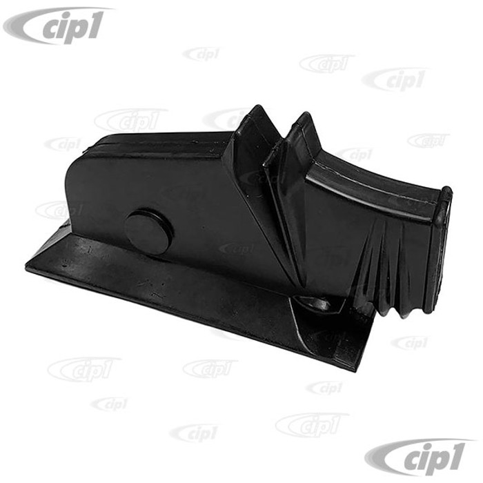 VWC-111-863-341-BLK - (111863341) PERFECT REPRODUCTION - DELUXE ACCORDION STYLE EMERGENCY BRAKE BOOT - BLACK - BEETLE 46-03/53 - SOLD EACH