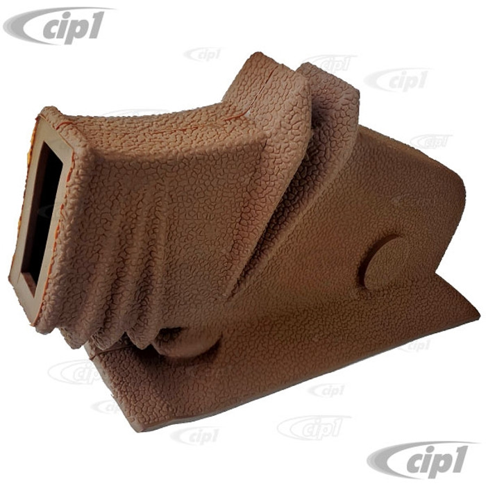 VWC-111-863-341-BRN - (111863341) PERFECT REPRODUCTION - DELUXE ACCORDION STYLE EMERGENCY BRAKE BOOT - BROWN - BEETLE 46-03/53 - SOLD EACH