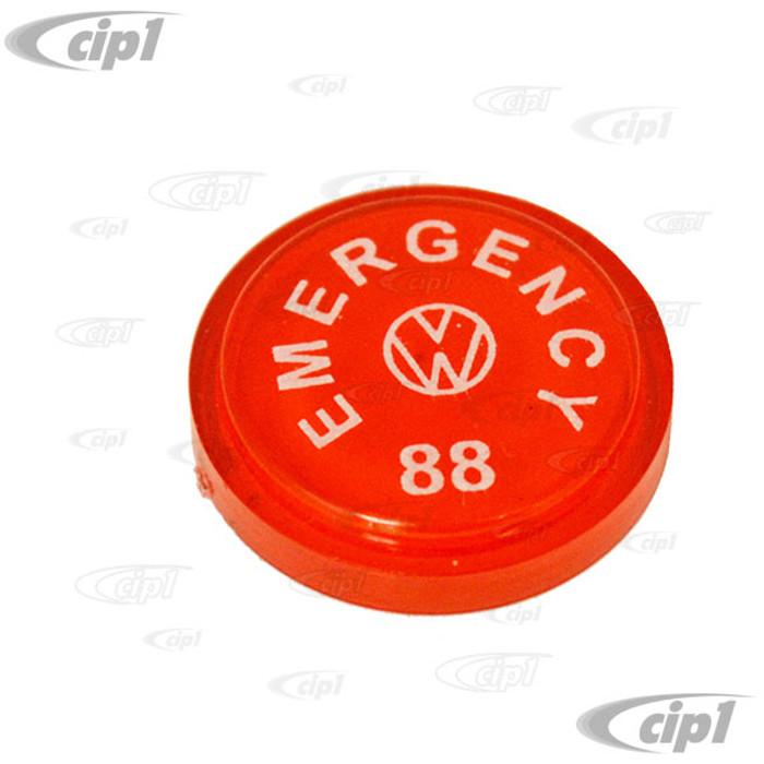 VWC-111-941-543-B - EMERGENCY KNOB INSERT - BEETLE 68-77 / SUPER BEETLE 71-72 / GHIA 68-74 / TYPE-3 68-74 - SOLD EACH