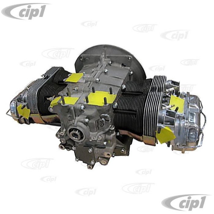 VWC-113-100-031-DCE - CIP1 ZERO MILE CRATE ENGINE - 100% NEW 1600-2275CC DUAL PORT ENGINE - BEETLE/GHIA 71-74 / BUS 71 - 6 MONTH GUARANTEE - SEE NOTES