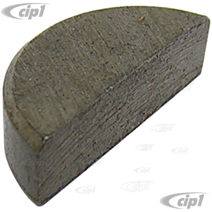VWC-113-105-249 - WOODRUFF KEY FOR CRANKSHAFT PULLEY - ALL 40 HP 1200CC-1600CC