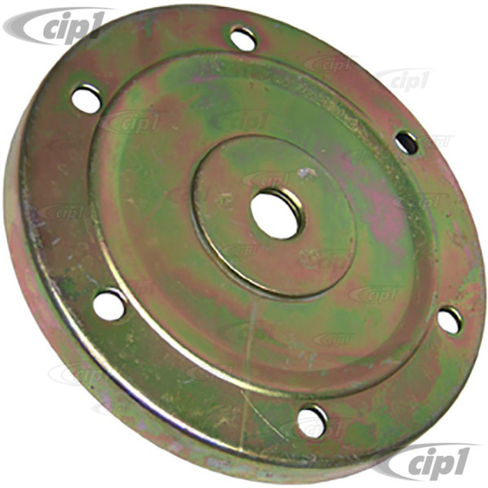 VWC-113-115-181-A - STOCK OIL DRAIN COVER PLATE WITH DRAIN HOLE (PLUG NOT INCLUDED) - ALL 40HP 1200CC-1600CC