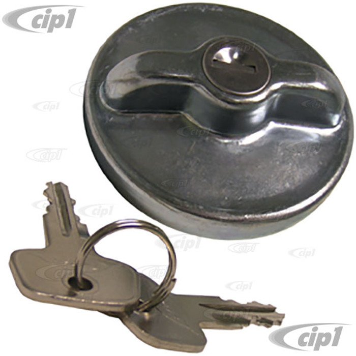 VWC-113-201-551-ALK - LOCKING GAS CAP 65MM - STANDARD BEETLE 68-71 / BUS 72-73 / GHIA 68-71 / TYPE 3 68-71