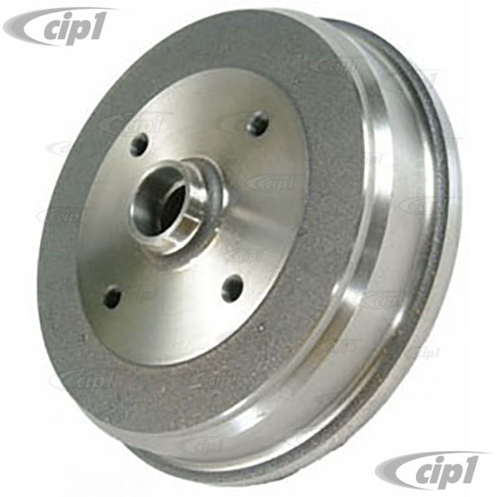 VWC-113-405-615-DGR - OE QUALITY FRONT BRAKE DRUM SUPER BEETLE 71-79 (GERMAN OR ITALIAN MADE) - SOLD EACH - (A20)
