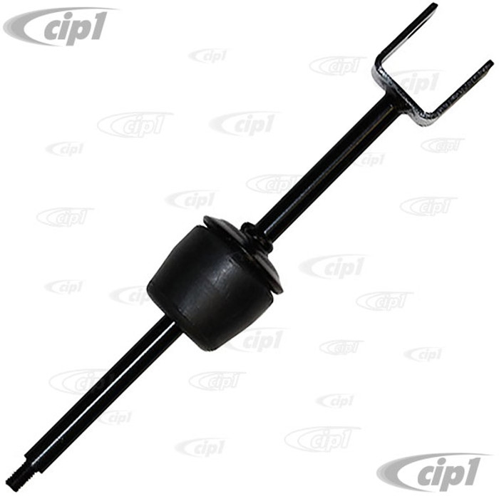 VWC-113-501-819-A - (113501819A) REAR Z-BAR ANTI ROLL BAR SUPPORT LINK ROD - LEFT SIDE - BEETLE 68-77 WITH SWINGAXLE TRANSMISSION (67-68 USA MODELS ONLY) - NOT FOR I.R.S. SUSPENSION - SOLD EACH