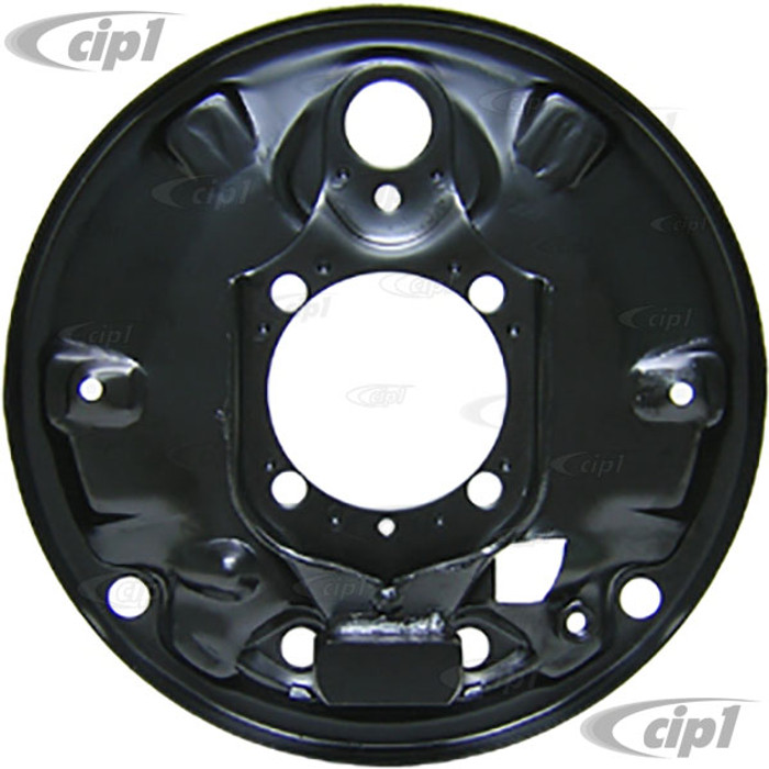 VWC-113-609-440-E - (113609440E) - EXCELLENT EUROPEAN PRODUCTION - RIGHT - REAR BRAKE BACKING PLATE - BEETLE 68-79 / GHIA 68-74 - SOLD EACH