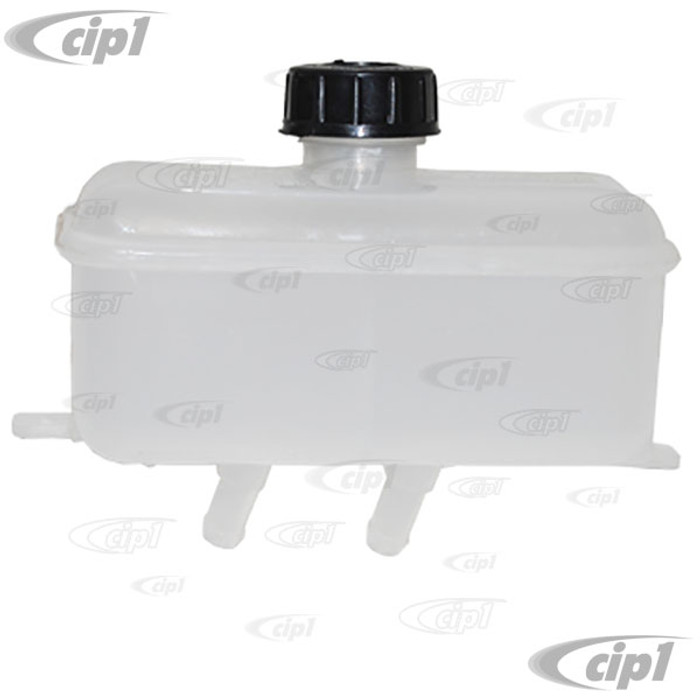 VWC-113-611-301-L - (113611301L) GOOD REPRODUCTION - BRAKE FLUID RESERVOIR - BEETLE 68-79 / GHIA 68-74 / TYPE-3 68-73 / VW THING 69-79 - SEE SPECIAL NOTES - SOLD EACH
