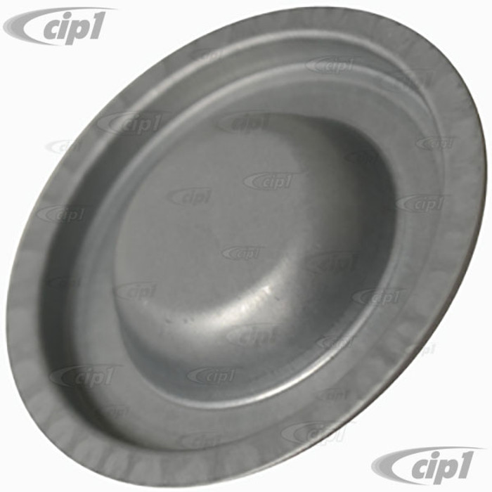 VWC-113-805-583 - (113805583) SPARE TIRE WELL METAL INSPECTION HOLE COVER - FITS INTO 65MM DIA. HOLE - BEETLE - SUPER BEETLE - SOLD EACH