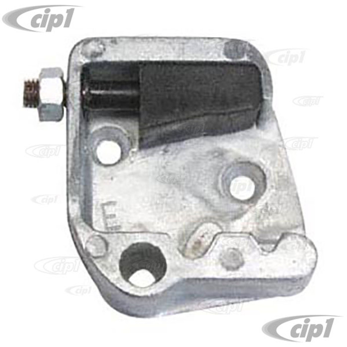 VWC-113-837-035-B - (111-837-035-B 111837035B) STRIKER PLATE - LEFT (T0 CHASSIS #5-888-184) - BEETLE 60-66 (WILL FIT 56-59 IF LOCK MECH. IS UPDATED) - SOLD EACH