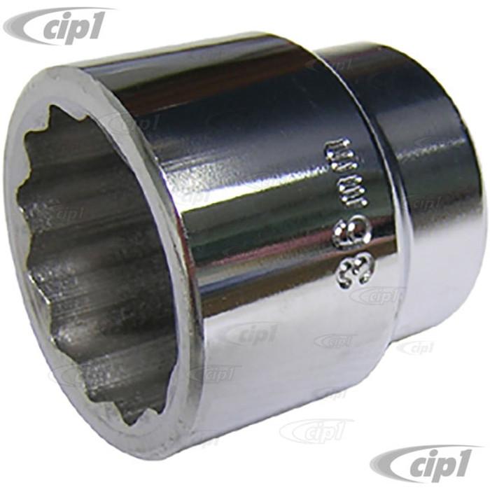 ACC-C10-7155 - (SIMULAR TO EMPI 5770) - 36 MM SOCKET - 1/2 INCH DRIVE ( FLYWHEEL & AXLE NUT ) - SOLD EACH