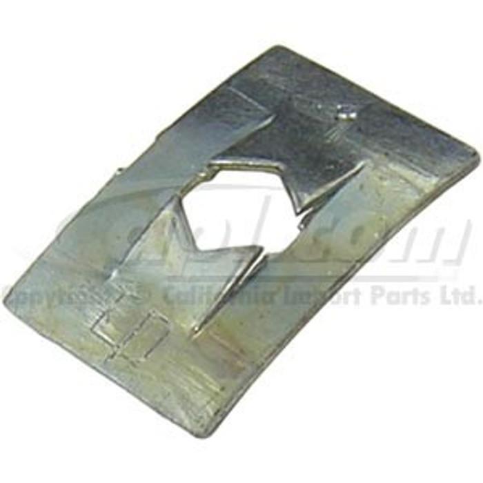 VWC-113-857-113-100 - BAG OF 100 - GLOVE BOX TRIM FRAME RETAINING METAL CLIPS - STD BEETLE 68-77/SUPER BEETLE 71-72 - SOLD BAG OF 100