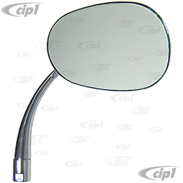 VWC-113-857-514-ATD - OUTSIDE MIRROR PEAR SHAPED RIGHT - ECONO QUALITY - BEETLE 46-67 - SOLD EACH