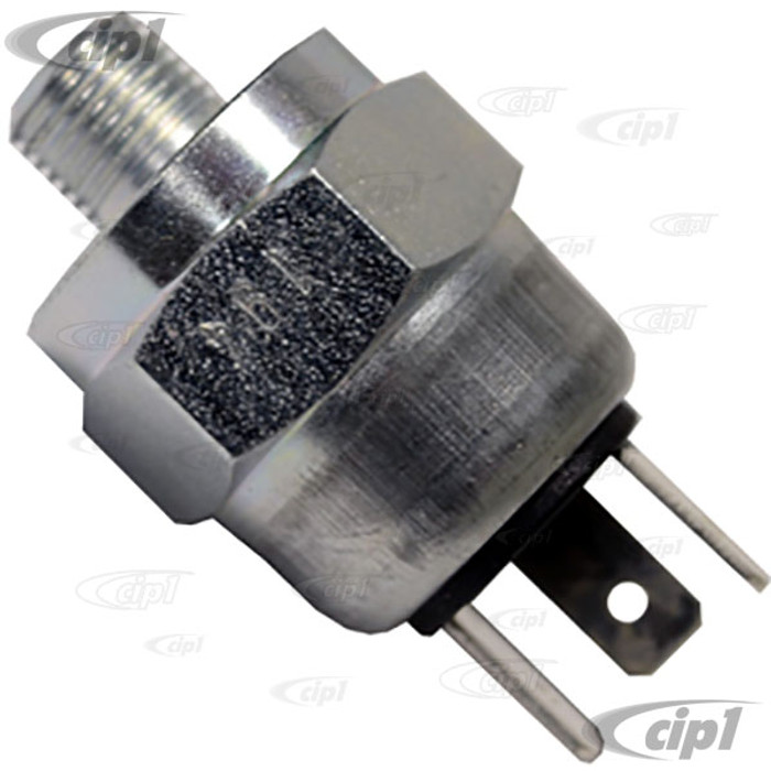 VWC-113-945-515-GGR - (113945515G) - GERMAN MADE (ATE OR FTE) - BRAKE LIGHT SWITCH 3 PRONG - BEETLE 70-79/GHIA 70-74/BUS 70-79/VANAGON 80-91/TYPE-3 70-74 - SOLD EACH