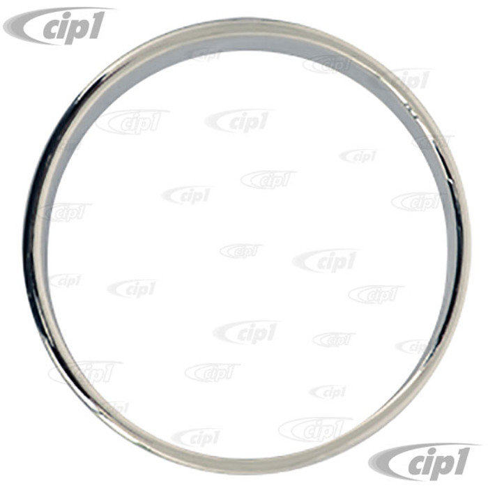 VWC-113-957-371-ES - TOP QUALITY REPRODUCTION SPEEDOMETER RING  - BEETLE 52-57 - SOLD EACH