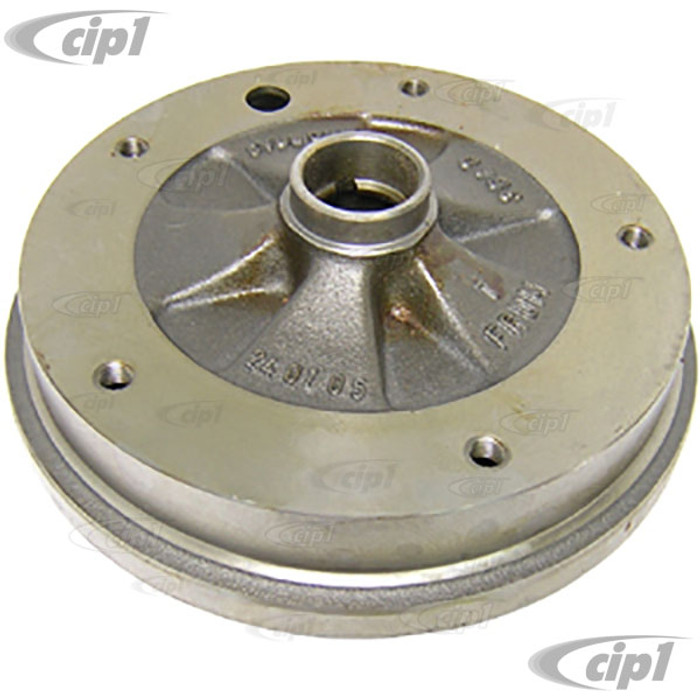 VWC-131-405-615-A - OE QUALITY - MADE IN EUROPE - FRONT BRAKE DRUM BEETLE 66-67 / GHIA 1966 / THING 73-74 - SOLD EACH  - (A10)