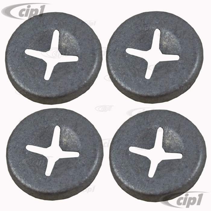 VWC-131-853-695-SET (131853695) SET OF 4 METAL CLIPS FOR SCRIPT WITH 2MM PINS - SOLD OF 4