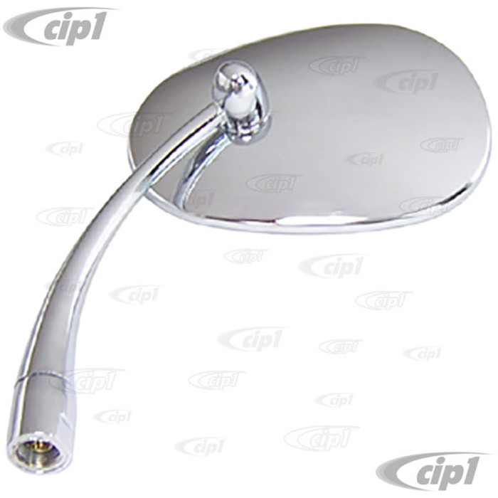 VWC-131-857-113-ATD - OUTSIDE MIRROR PEAR SHAPED LEFT - BEETLE 46-67 (ECONOMY QUALITY)