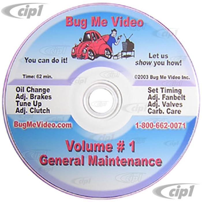 ACC-C10-9600-DVD - BUG-ME DVD VERSION -  VOL-1 GENERAL MAINTENANCE