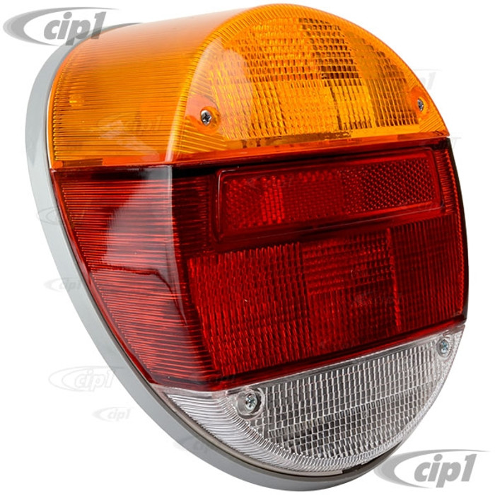VWC-133-945-096 - (133945096) GOOD ECONOMY QUALITY - COMPLETE TAIL LIGHT ASSEMBLY - FITS LEFT OR RIGHT - BEETLE 73-79 / THING 73-74 - SOLD EACH