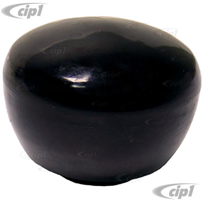 VWC-141-711-141-D - OE QUALITY - SMOOTH BLACK SHIFT KNOB - 12MM  -BEETLE 68-79 - GHIA 68-74 - BUS 68-79 - THING 73-74
