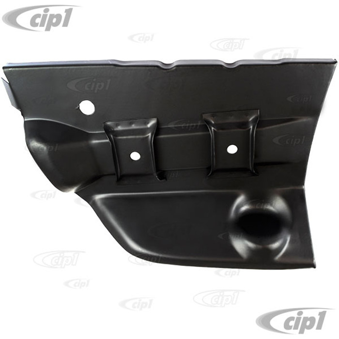 VWC-141-800-716 - (141800716) EXCELLENT QUALITY - RIGHT REAR INNER FENDER / BUMPER BRACKET MOUNT REPAIR SECTION - PASSENGER SIDE - GHIA 56-74 - SOLD EACH