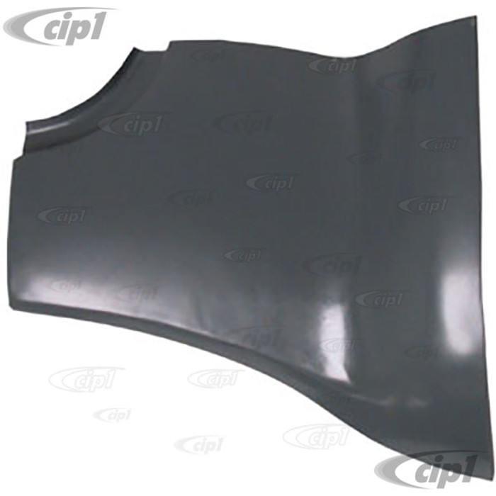 VWC-141-800-812 - REAR OUTER PANEL RIGHT - FITS BETWEEN REAR APRON & FENDER - GHIA 56-74