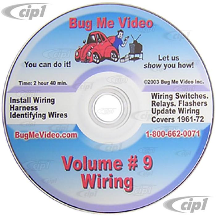 ACC-C10-9608-DVD - BUG-ME DVD VERSION - VOL-9 - WIRING HARNESS INSTALLATION