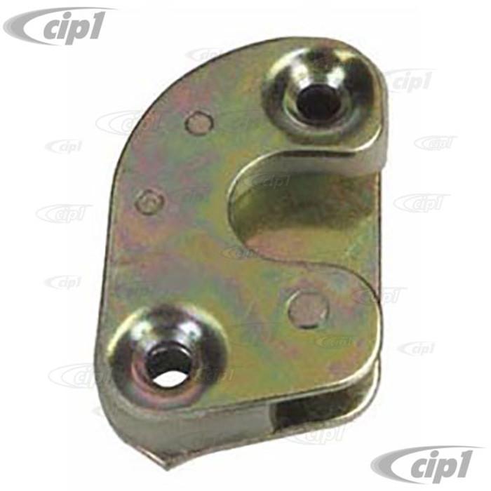 VWC-141-837-295-C - DOOR STRIKER PLATE LEFT - KARMANN GHIA 67-74