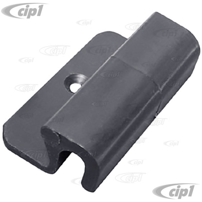 VWC-143-885-563 - RETAINING CLIP FOR REAR SEAT - SMALL CLASP-MOUNTS TO REAR SEAT - GHIA SEDAN 68-74 ONLY - SOLD EACH