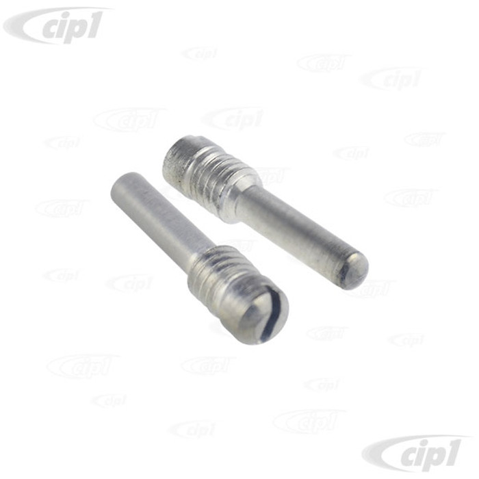 VWC-151-837-633-APR - (151837633A) GERMAN - PAIR OF VENT WINDOW UPPER PIVOT PIN SCREWS - BEETLE CONVERTIBLE 52-72 - SOLD PAIR