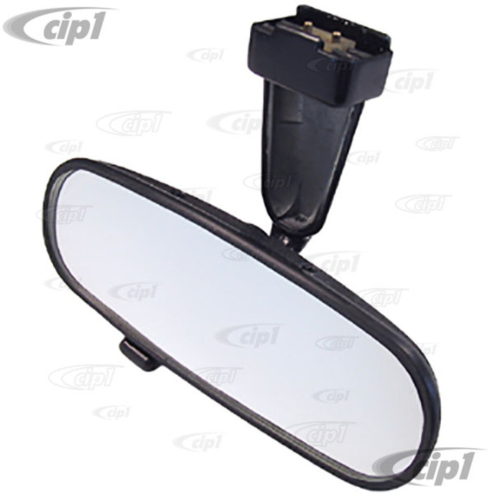 VWC-151-947-131-A - (151947131A) EXCELLENT REPRODUCTION - INTERIOR REAR VIEW MIRROR - CONVERTIBLE BEETLE/GHIA 68-79 (WHITE BASE NOT INCLUDED) - SOLD EACH