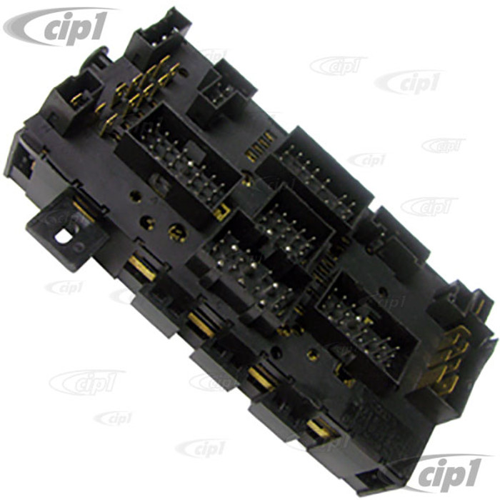 VWC-171-941-821-D - (171941821D) EXCELLENT QUALITY - FUSEBOX PANEL / RELAY BOX - VANAGON 86-91 - GOLF 85-92 - JETTA 81-92 - SOLD EACH