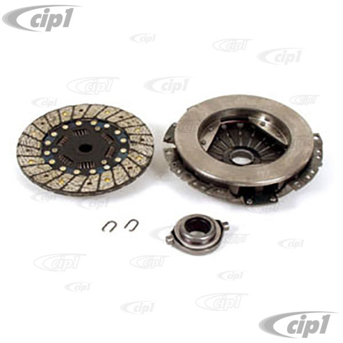 VWC-211-140-025-BKIT - (211-141-025-B 211141025B) OE QUALITY 200MM CLUTCH KIT WITH COLLAR - PRESSURE PLATE / CLUTCH DISC / THROW OUT RELEASE BRG - ALL VW BEETLE/GHIA/BUS/TYPE-3 67-70 - SOLD KIT