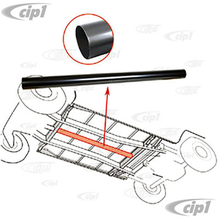 VWC-211-255-785-A - (211255785A) CENTER METAL HEAT TUBE - 70MM DIA. X 1000MM LONG (1MM WALL THICKNESS) - BUS 55-72 - SOLD EACH