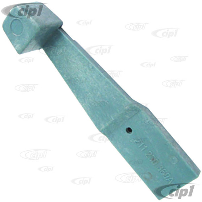 VWC-211-259-369-A - BLUE DASH HEATER CONTROL LEVER - BUS 73-79 - SOLD EACH