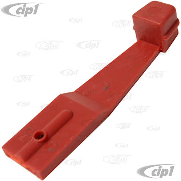 VWC-211-259-371-A - RED DASH HEATER CONTROL LEVER - BUS 73-79 - SOLD EACH