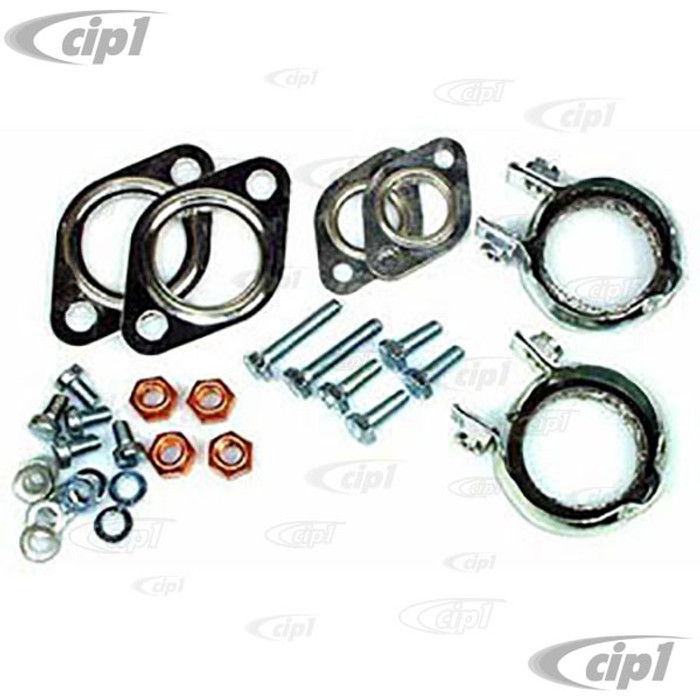 VWC-211-298-009-A - (211298009A) OE QUALITY - MUFFLER INSTALLATION KIT - BUS 68-71 - SOLD KIT