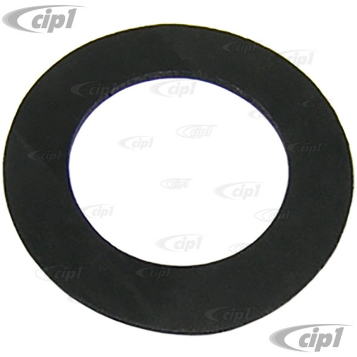 VWC-211-415-617 - STEERING COLUMN SEALING - SEALS LOWER PORTION OF TUBE TO FLOOR - BLACK RUBBER - BUS 52-67