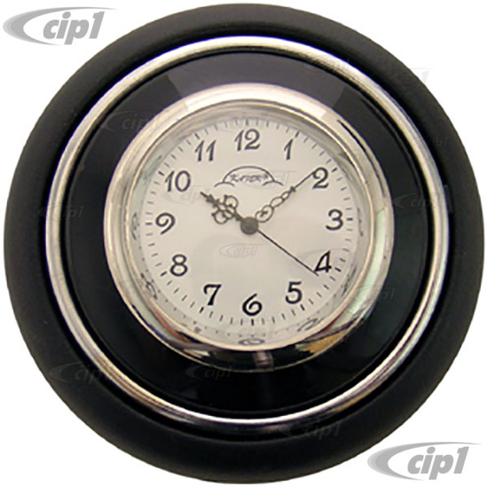 VWC-211-415-CLOCK - HORN BUTTON WITH BUILT-IN CLOCK - BUS 55-67 - BEETLE 56-59 - SOLD EACH