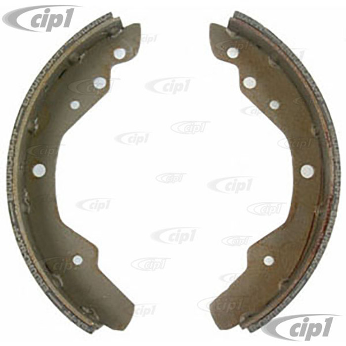 VWC-211-609-537-B - NEW BRAKE SHOE SET OF 4 (S397) - REAR - BUS 72-12/72 - SEE NOTES (NO CORE CHARGE)