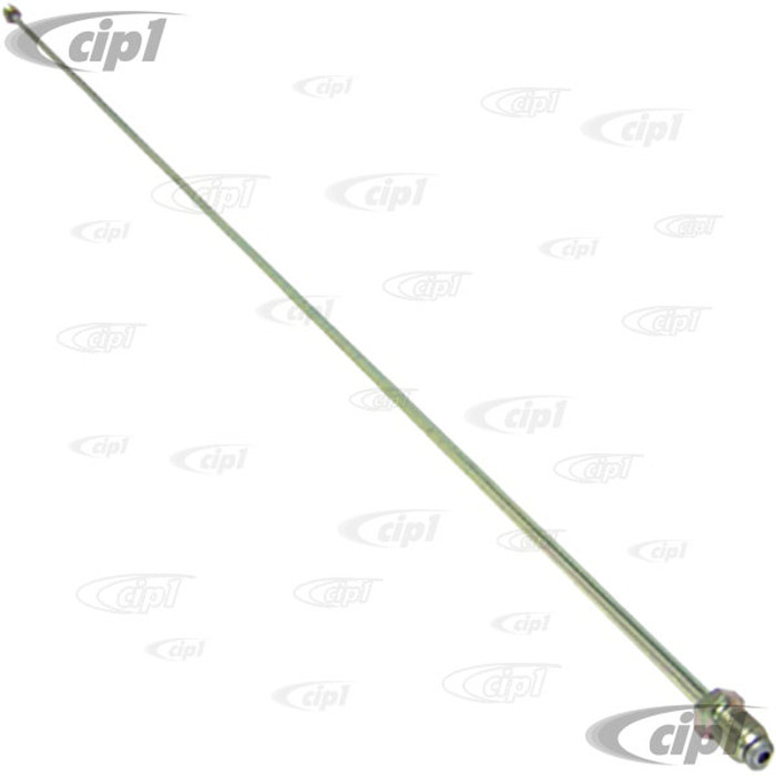 VWC-211-611-724-C - (211611724C) - METAL BRAKE LINE 955MM RIGHT FRONT - BUS 68-79 - SOLD EACH
