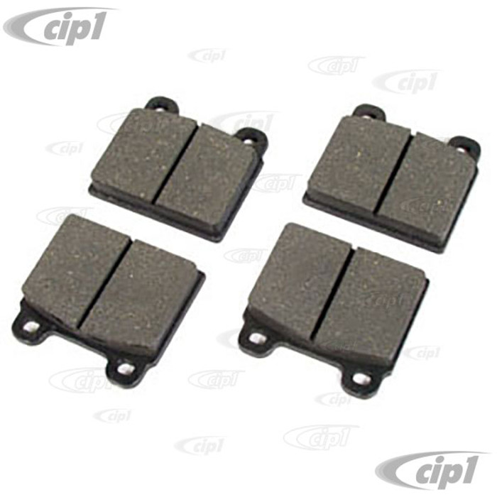 VWC-211-698-151-F - (211698151F) EXCELLENT OE REPLACEMENT - 4 PIN BRAKE PADS (ORGANIC MATERIAL) - 15MM THICK - BUS 71-72 - 4 OF SET