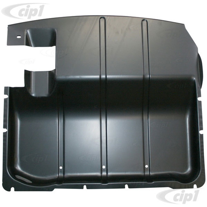 VWC-211-703-611-B - (211703609B 211703611B) EXCELLENT QUALITY - METAL COVER PANEL/PLATE UNDER PEDAL ASSEMBLY AREA - BUS 52-67 - SOLD EACH