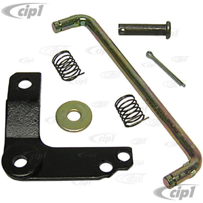 VWC-211-798-001 - (211-798-631 211798001) EXCELLENT QUALITY - ACCELERATOR PEDAL REPAIR KIT - INCLUDED ROD/PIN/SPRINGS/WASHER & COTTER PIN - BUS 55-67 - SOLD KIT