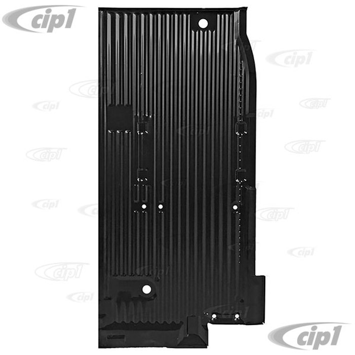 VWC-211-801-404-Q (211801404Q) - COMPLETE RIGHT CARGO FLOOR PAN SECTION - BUS 68-79- SOLD EACH
