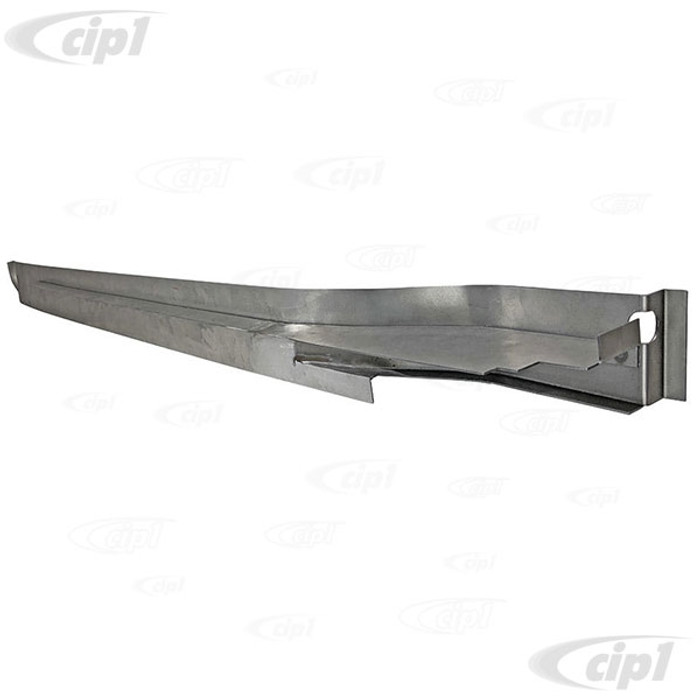 VWC-211-801-672-D - (211801672D 955504-2) EXCELLENT REPRODUCTION - GUIDE RAIL/RUNNER FOR SLIDING DOOR - LOWER PIECE - WELDS TO BODY (DOES NOT INCLUDE TOP TRACK) - BUS 68-79 - SOLD EACH